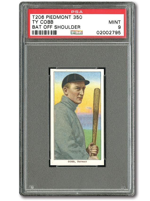 1909-11 Ty Cobb T206 Card