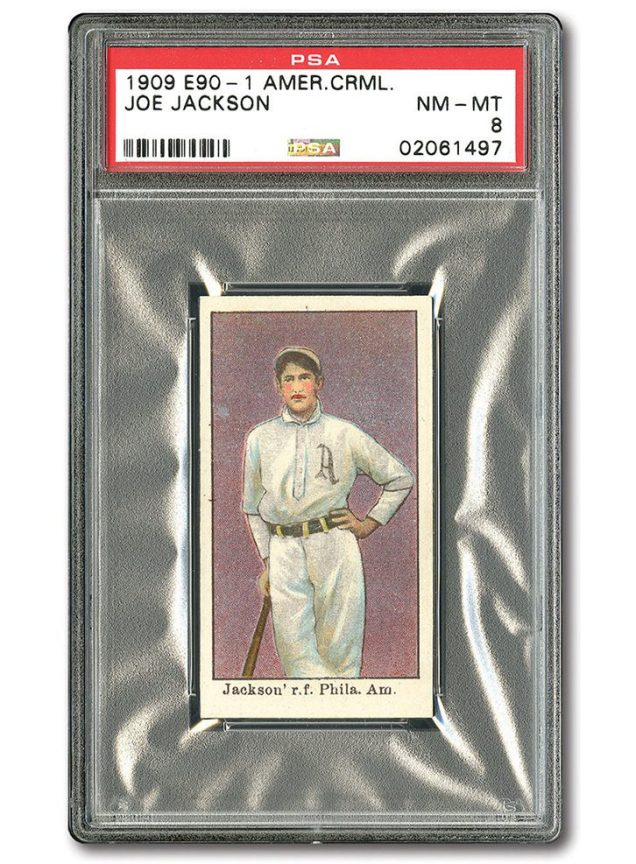 1909 Joe Jackson Card