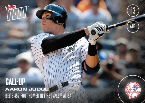 Aaron-Judge-2016 Topps-Now