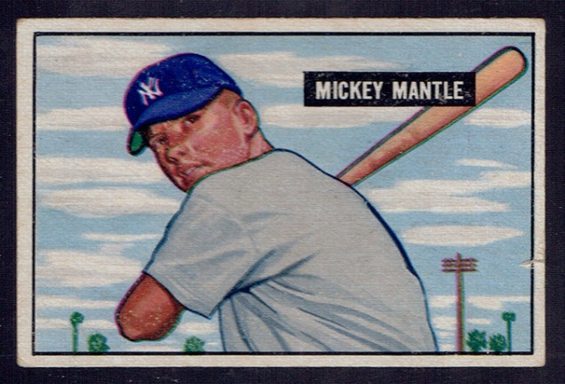 1951-bowman-mickey-mantle-rookie-card