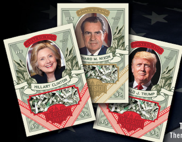 DECISION 2016 SERIES 2 POLITICAL GEMS RONALD REAGAN PG41