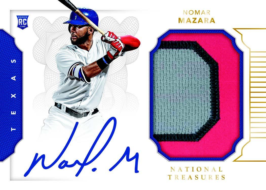 First Buzz 2016 National Treasures Baseball Cards Blowoutbuzzcom