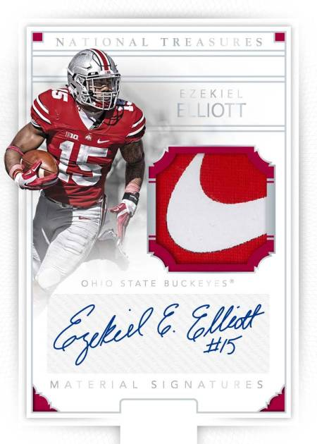 2016-panini-national-treasures-collegiate-football-ezekiel-elliott