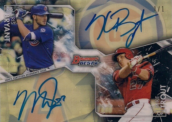 kris-bryant-mike-trout-superfractor-auto-2016-bowmans-best