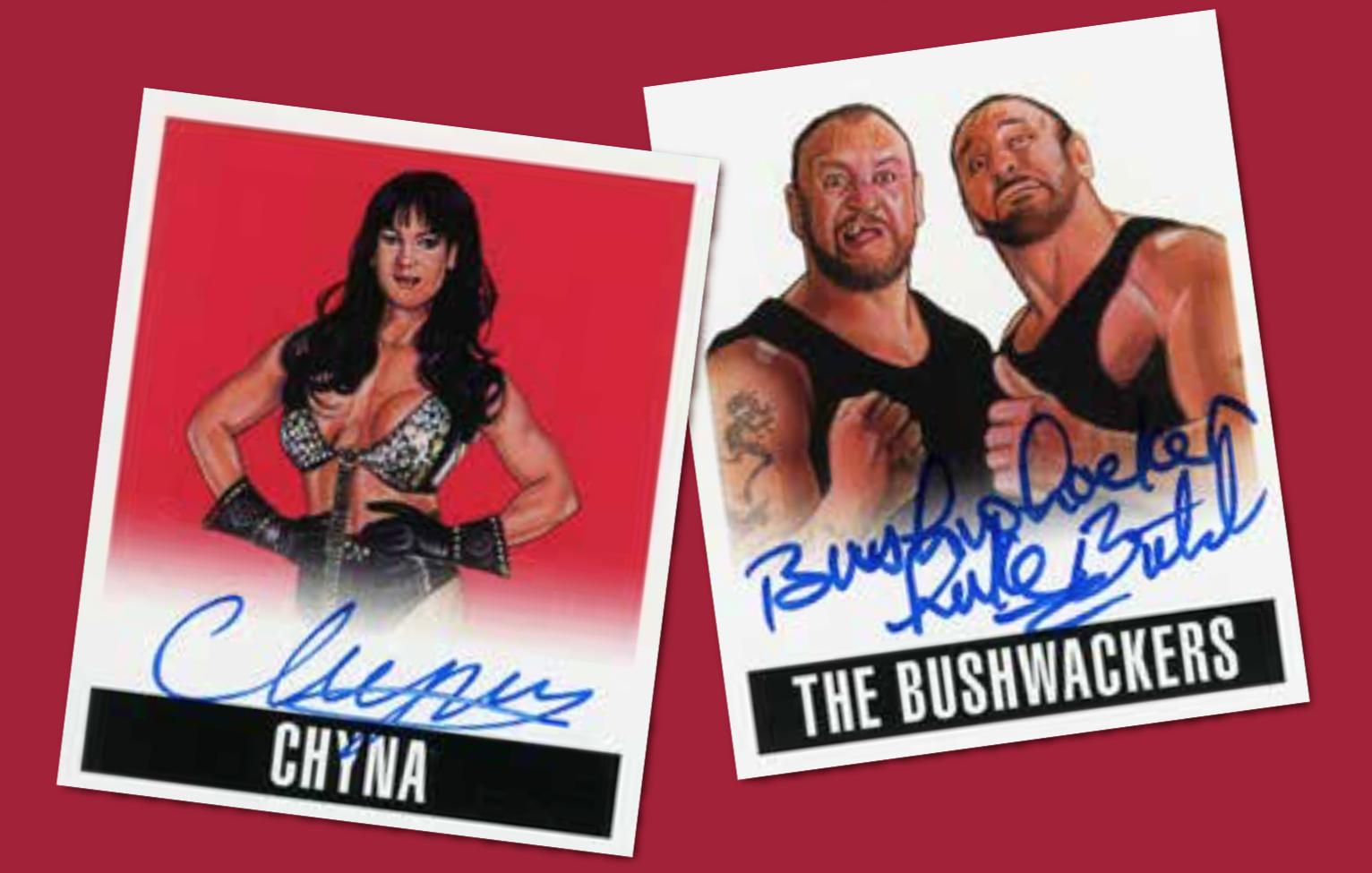 2017-leaf-originals-wrestling-chyna-bushwackers