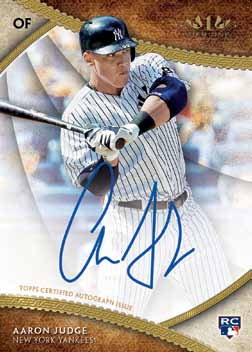 First Buzz: 2017 Topps Tier One baseball cards ...