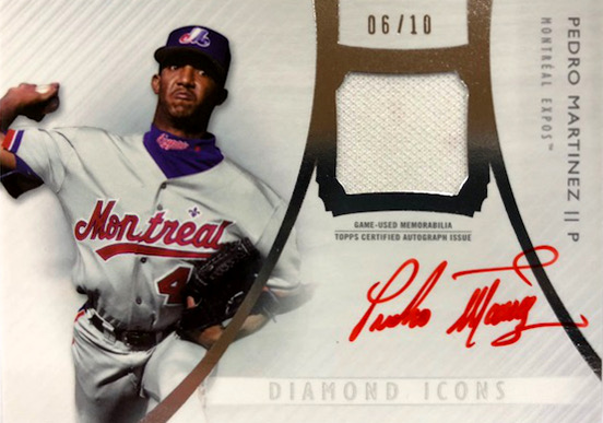 First Buzz 2017 Topps Diamond Icons Baseball Cards