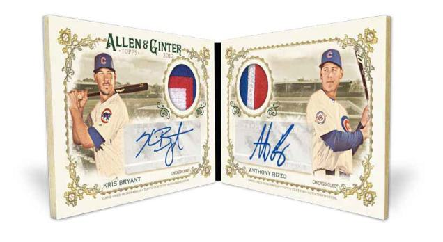 Whos On The 2017 Topps Allen Ginter Checklist Its Here