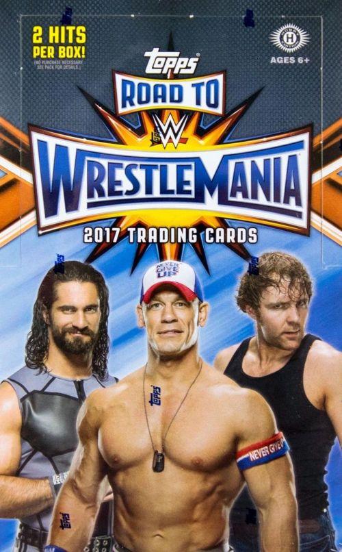 2017-topps-wwe-road-to-wrestlemania-hobby-box