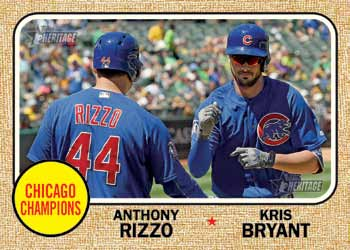 First Buzz 2017 Topps Heritage High Number Baseball Cards