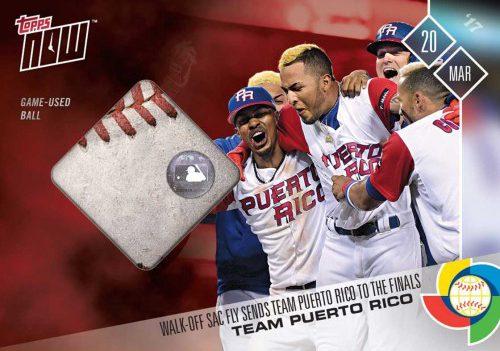 Relics Grab Spotlight In Topps Latest World Baseball Classic Cards