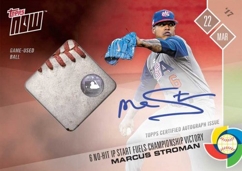World Baseball Classic Champions Get Their Topps Now Moment