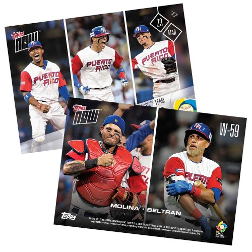 World Baseball Classic Continues With New Topps Now Cardboard