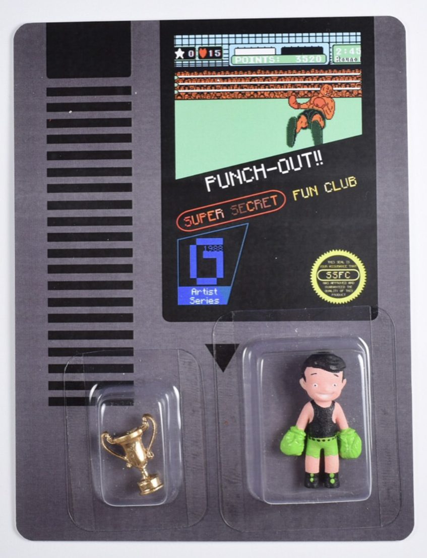 86808c5fd117e Mike Tyson s Punch-Out!! icons get artistic tribute via Gallery1988 ...