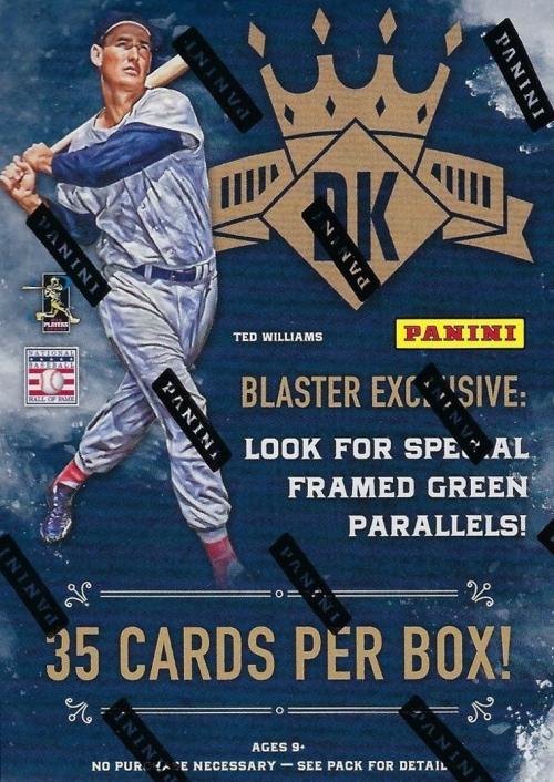 Buzz Break 2017 Panini Diamond Kings Baseball Cards