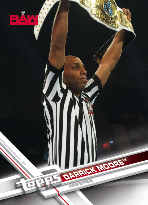 big autographs  wwe network shows  newcomers  ref cards