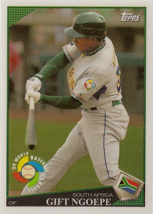 Gift Ngoepe has MLB-approved baseball cards before historic debut ...
