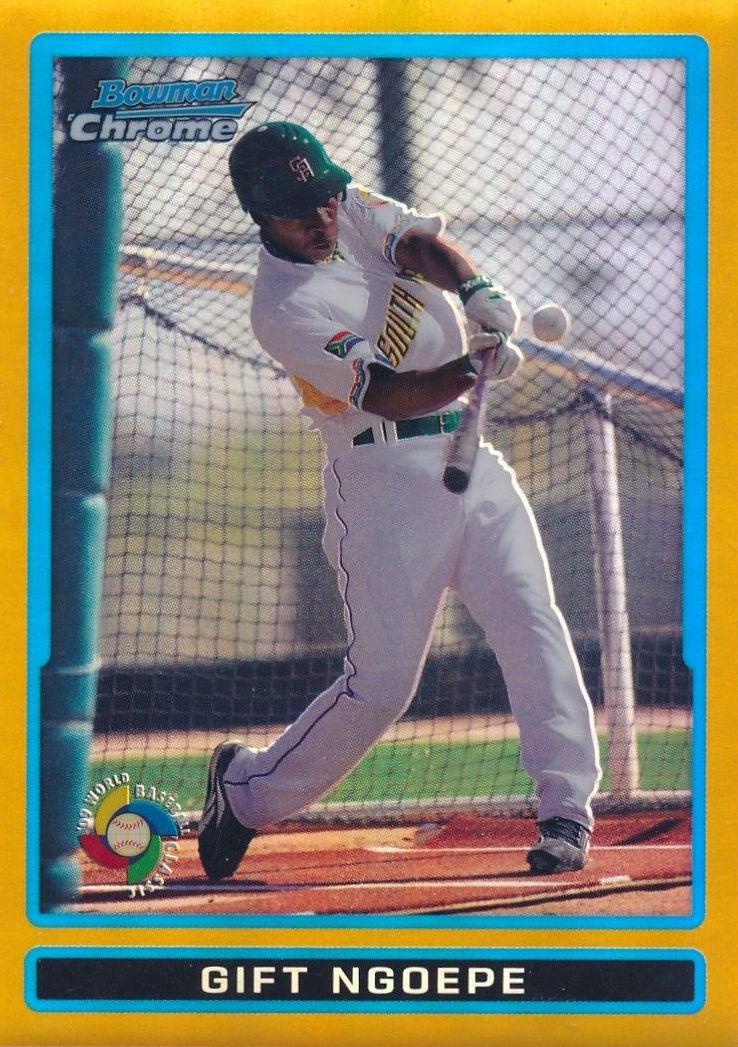 Gift Ngoepe Has Mlb Approved Baseball Cards Before Historic Debut