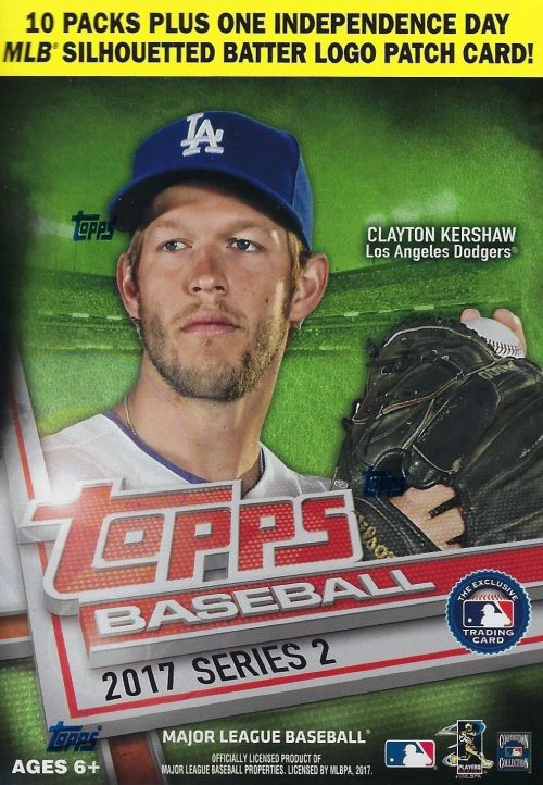 Buzz Break 2017 Topps Series 2 Baseball Cards Blaster Box