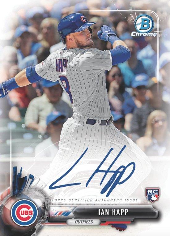9dc5e8bb4b1 Ian Happ is your 2017 Bowman Lucky Autograph Redemption