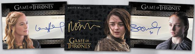 Game of Thrones Valyrian Steel Kristian Nairn as Hodor VS Autograph