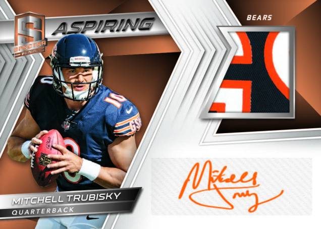 942af5db First Buzz: 2017 Panini Spectra football cards – BlowoutBuzz.com