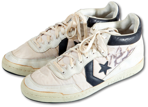 0ed481734f1 What s rarer than the rarified air of a pair of Michael Jordan game-used  shoes