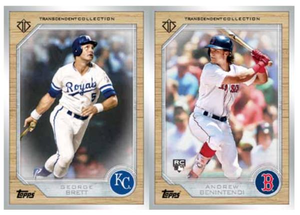 2017 Topps Transcendent Collection Baseball Cards