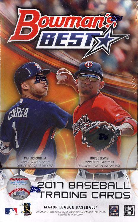 Buzz Break 2017 Bowmans Best Baseball Cards Hobby Box