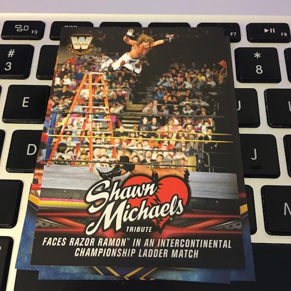 C1999 Razor Ramon 1992 #10//30 WWE Heritage 2015 ROOKIE OF THE YEAR Chase Card